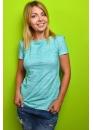 Удлинённая футболка для кормящих мам Wish Yu мятная