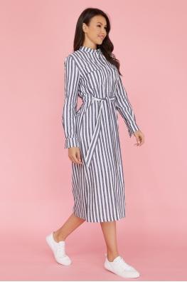 Платье-рубашка для кормящих мам My Summer