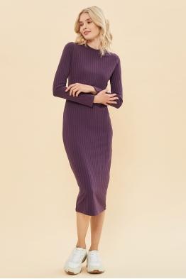 Платье Fantastic Ma пыльно-фиолетовое