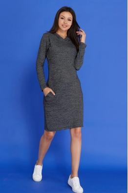 Платье с капюшоном для беременных и кормящих