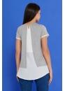 Блузка двухслойная для беременных и кормящих