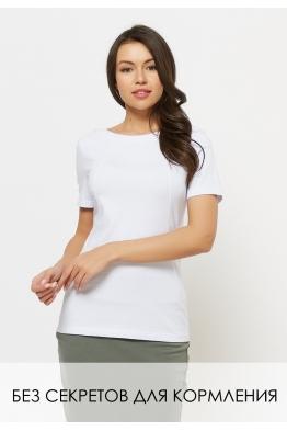 Удлиненная футболка Wish Yu белая