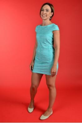 Летнее платье для кормления LIKE YU с мятными волнами, Мини