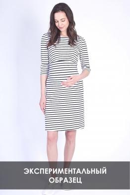 ОБРАЗЕЦ Платье мини для беременных и кормящих