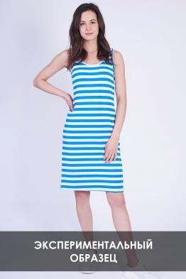 ОБРАЗЕЦ Платье для беременных в синюю полоску