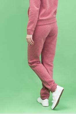 Утепленные брюки My Buddy бордовые