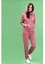 Утепленный костюм для кормящих мам My Buddy бордовый