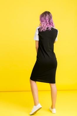Платье My Color черное