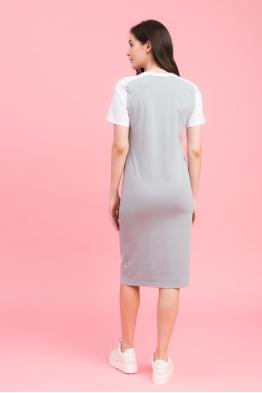 Платье My Color серое