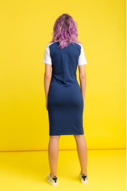 Платье My Color индиго