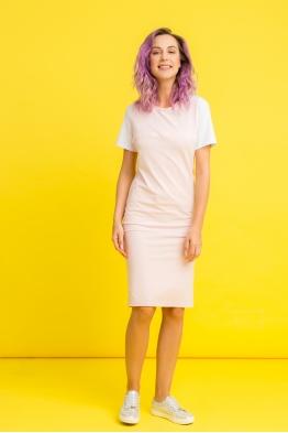 Платье My Color розовое