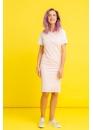 Платье для беременных и кормящих мам My Color розовое