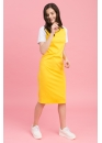 Платье для беременных и кормящих мам My Color желтое