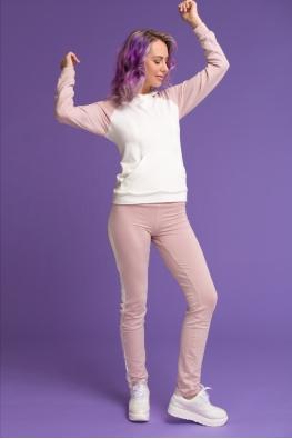 Летний костюм для кормящих мам Swanky Ma розовый