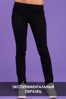 Корректирующие брюки My Doe черные (ОБРАЗЕЦ)