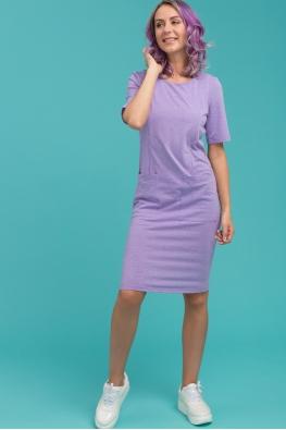 Платье для кормящих мам Daily Ma сиреневое