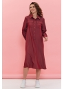 Платье для беременных и кормящих мам Romantic Ma красное