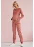 Костюм для беременных и кормящих мам Gentle Ma розовый