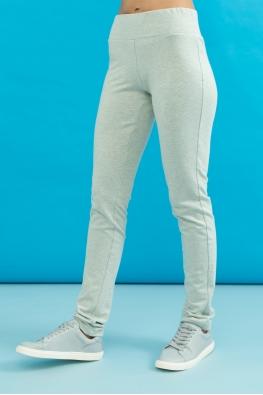 Корректирующие брюки My Doe серо-голубые