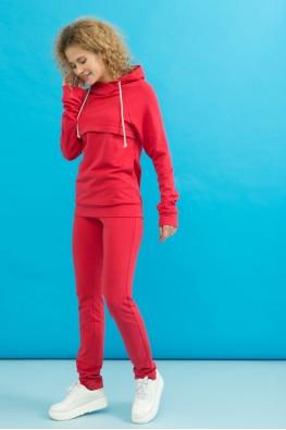 Корректирующие брюки My Doe красные