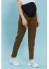 Брюки (джинсы) для беременных  My Shape хаки