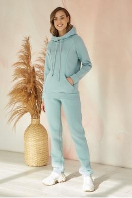 Утепленный костюм для кормящих мам My Buddy снежная мята
